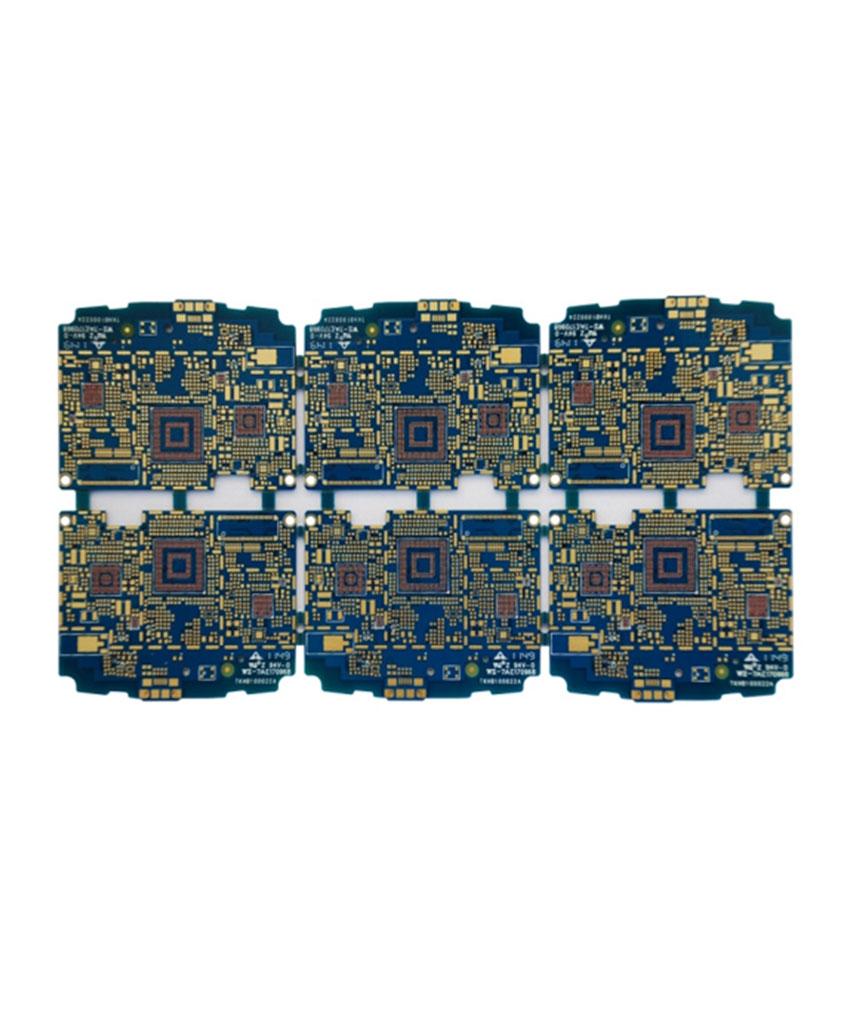 แผงวงจร PCB หลายชิ้น